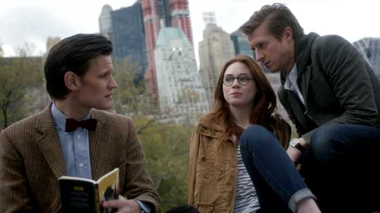 Doctor Amy and Rory in New York