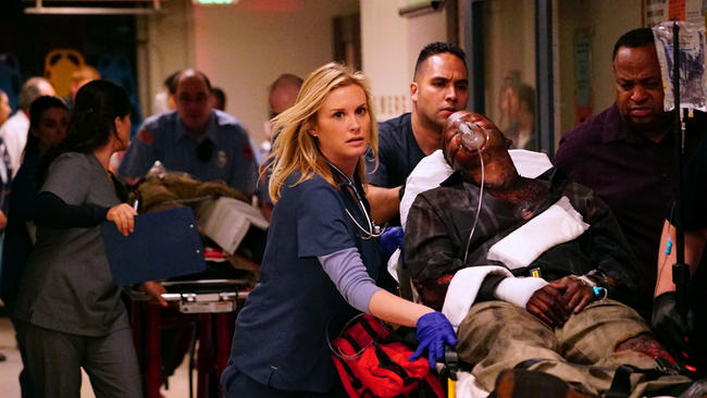CODE BLACK Photo: Richard Cartwright/CBS ©2015 CBS Broadcasting, Inc. All Rights Reserved
