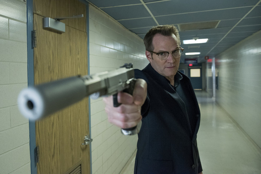"HEROES REBORN -- ""June 13th - Part Two"" Episode 108 -- Pictured: Jack Coleman as HRG -- (Photo by: Christos Kalohoridis/NBC)"