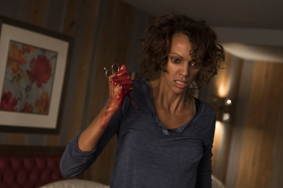 "HEROES REBORN -- ""June 13th - Part Two"" Episode 108 -- Pictured: Judith Shekoni as Joanne Collins -- (Photo by: Christos Kalohoridis/NBC)"